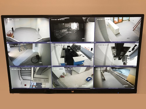 Monitoring Security Cameras for businesses